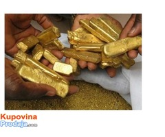 We are currently looking for partners to sell gold