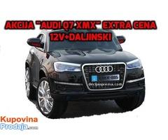 Audi Q7 XMX Auto na akumulator 12V sa daljinskim upravljanjem