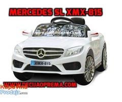 Mercedes SL xmx 815 Auto na akumulator sa daljinskim