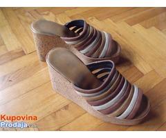 Sandalice sa platformom 38