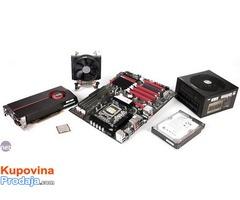 OTKUP PC komponenti, procesora Intel i AMD, matičnih ploča, grafičkih kartica Asus, MSI, Gigabyte