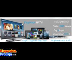 SkyMax IPTV-Preko 500Kanala(EX-YU,strani,filmski)