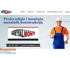 Montaža metalnih konstrukcija - Stručna ekipa
