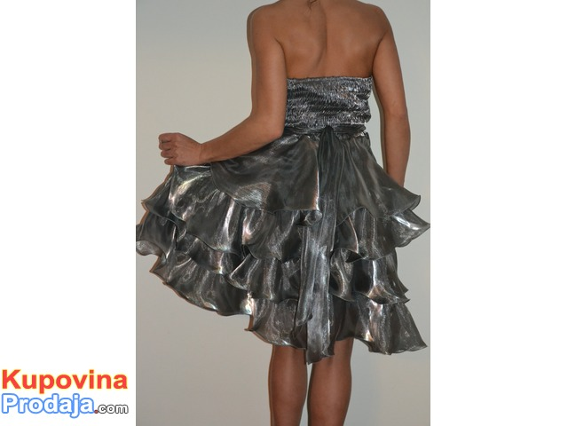 Absolutely Unique Silver Dress