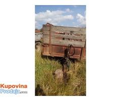 na prodaju prikolica za traktor od 3t