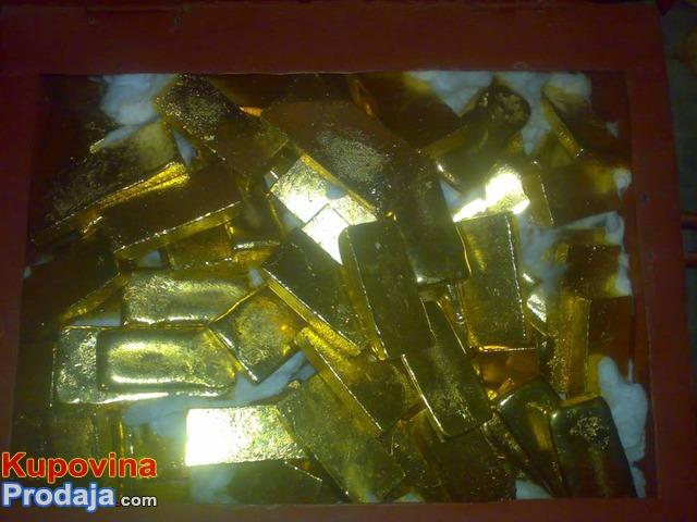 Prodaju plemenitih metala: zlato 97%, 80% karatni dijamant