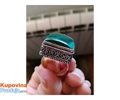 prsten boje MALAHIT