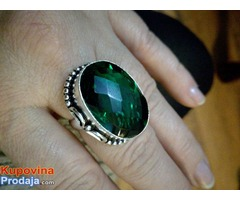 prsten boje GREEN QUARTZ