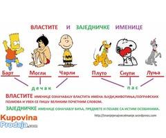 Casovi SRPSKOG i ENGLESKOG jezika