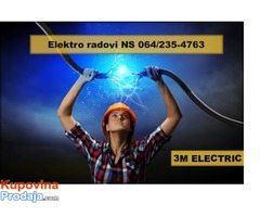 Sve vrste elektro radova Novi Sad i okolina