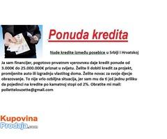 Ja sam srpski i dajem 3000 € do 23000000 €