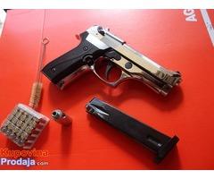 Startni Pištolj ekol magnum hrom 9mm