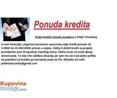 Ponuda vrijedi od 2000 € do 2.000.000€.