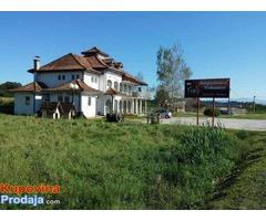 Poslovni objekat na magistralnom putu Kraljevo-Čačak