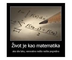 Privatni časovi: matematika, fizika, elektrotehnika i ostali elektro predmeti