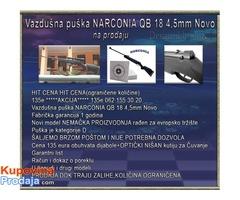 Vazdušna puška NARCONIA QB 18 4,5mm Novo
