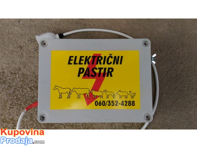 Elektricna COBANICA za zivotinje