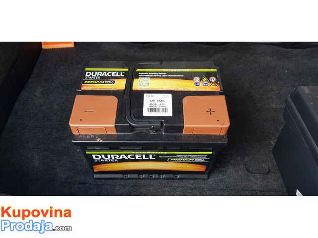 Prodajem NOV akumulator Duracell DS 55