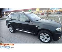 Prodajem BMW X3 2005. dzip suv