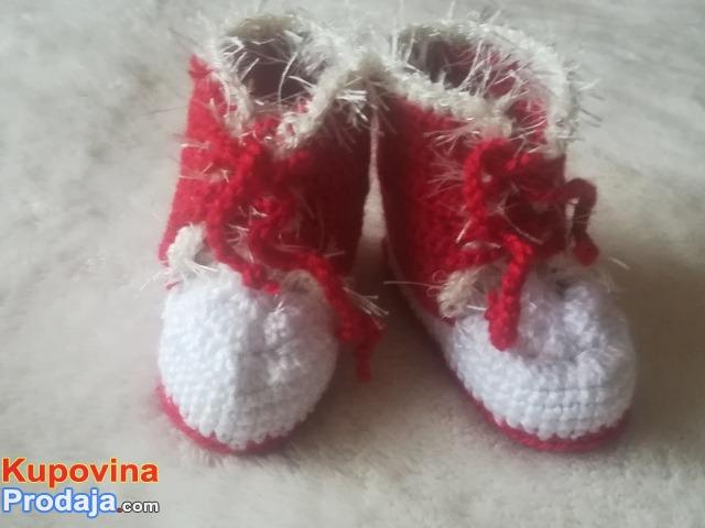 Patikice za bebe heklane