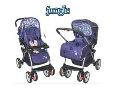 Jungle kombinovana kolica za decu Insieme Purple
