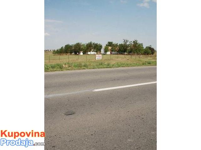 Salas na putu Novi Sad-Zrenjanin kod Žablja