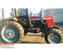 Prodajem dva traktora belarus