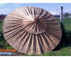 Trska,trska za ograde ,pletena trska,stukatur