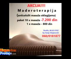 Maderoterapija -anticelulit masaža oklagijama