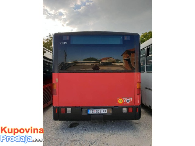 Dva autobusa MERCEDES Citaro