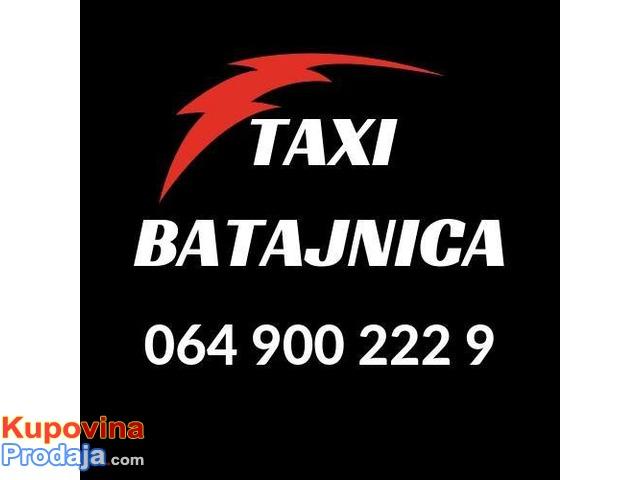 Taxi Batajnica do aerodroma  - 064 900 222 9