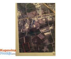Prodajem plac u Simanovcima industrijska zona, gradjevinsko zemljiste