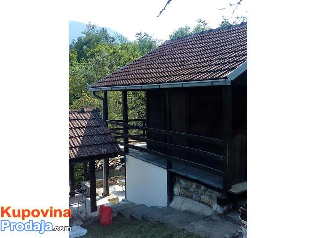 vikendica Ovcar Banja,jezero Medjuvrsje