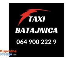 Taxi Batajnica - 064 900 222 9 - Najniže cene