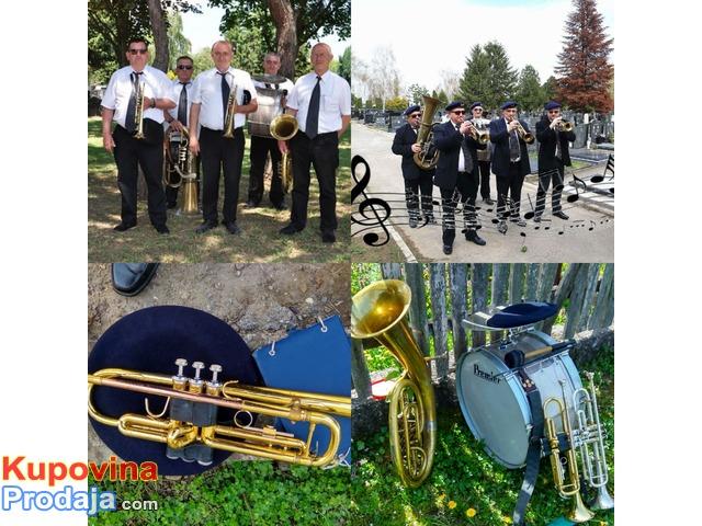 Muzika za sahrane trubački pogrebni orkestar