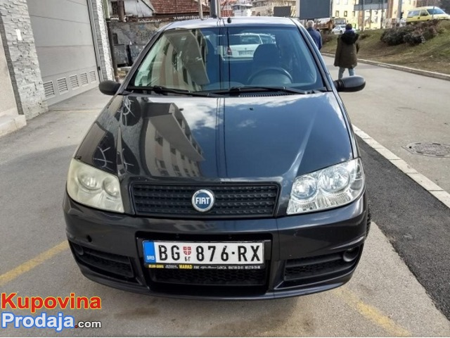 Fiat Punto Sporting 2004. godište
