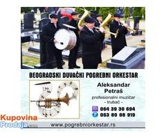 Trubači bleh muzika pogrebni orkestar za sahrane Srbija Beograd