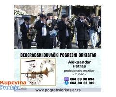 Orkestar muzika trubači za sahrane Požarevac