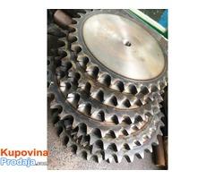 Izrada roto sečki,izrada delova za kukuruzne adaptere.