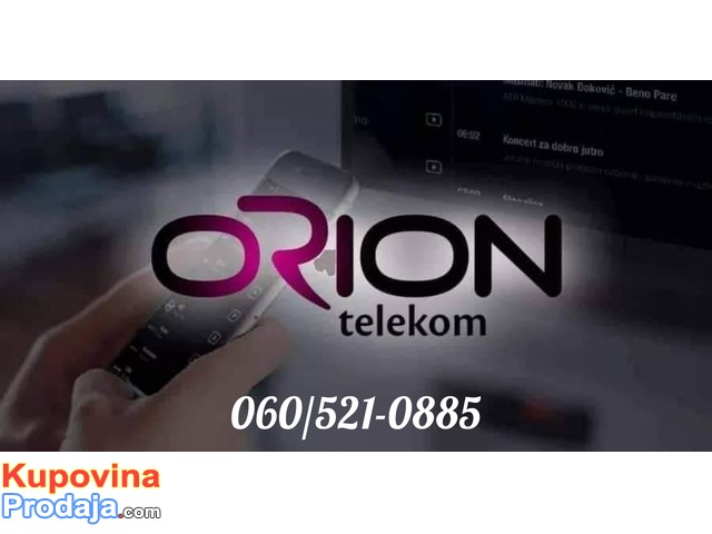 ORION WI-FI, INTERNET KABLOVKKA