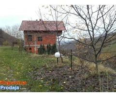 Stambena kuća, šuma, poljoprivredno zemljište, Jablanica