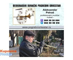 Solo truba ili violina za sahrane pogrebe Beograd