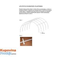 Plastenik 4mx 15m – Šaljemo brzom poštom