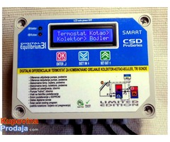 Diferencijalni termostat dvostruki kotao-kolektor-bojler
