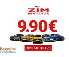 ZIM Rent a car Beograd centar - najbolji uslovi i cene