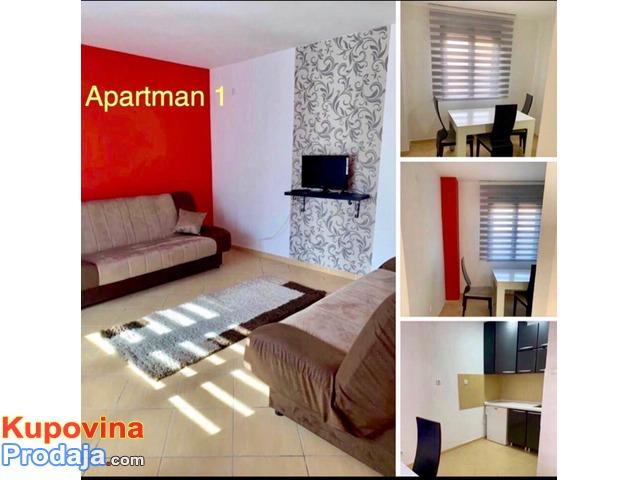 Izdavanje apartmana Kragujevac