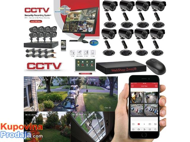 CCTV  Video Nadzor sa 8 kamera
