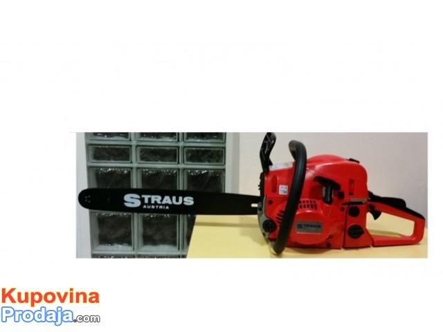 Straus Austrija Motorna Testera 3,8KS NOVO