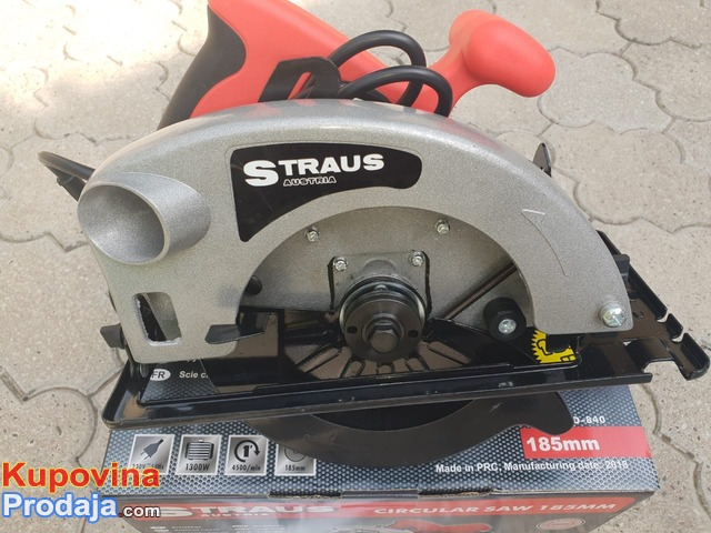 Straus Austrija Rucni cirkular 1300w
