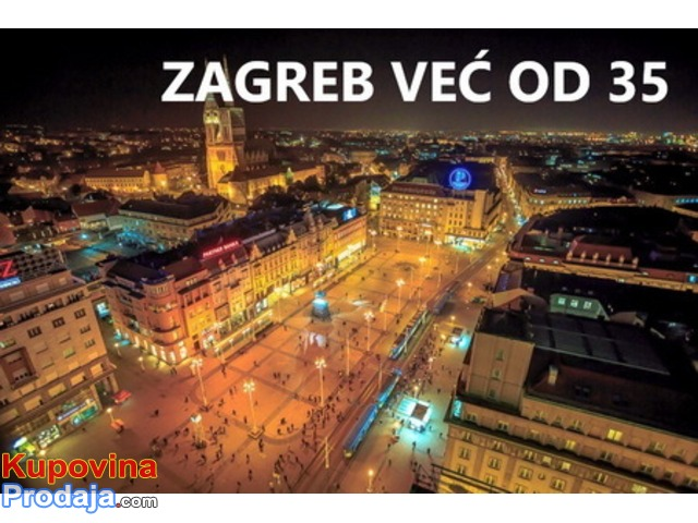 Provereno! Kombi prevoz putnika do Zagreba - Ljubljane